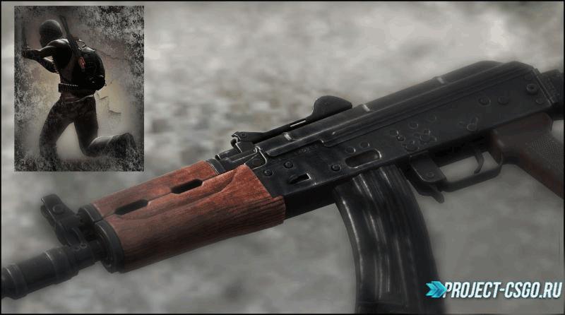 "Модель оружия АК-47 ""BF3 AKS-74U"""