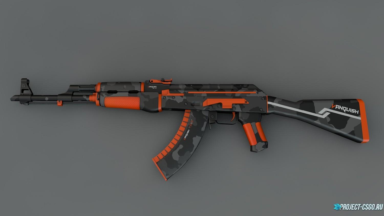 """Модель оружия АК-47 """"AK-47 Vanquish"""""""