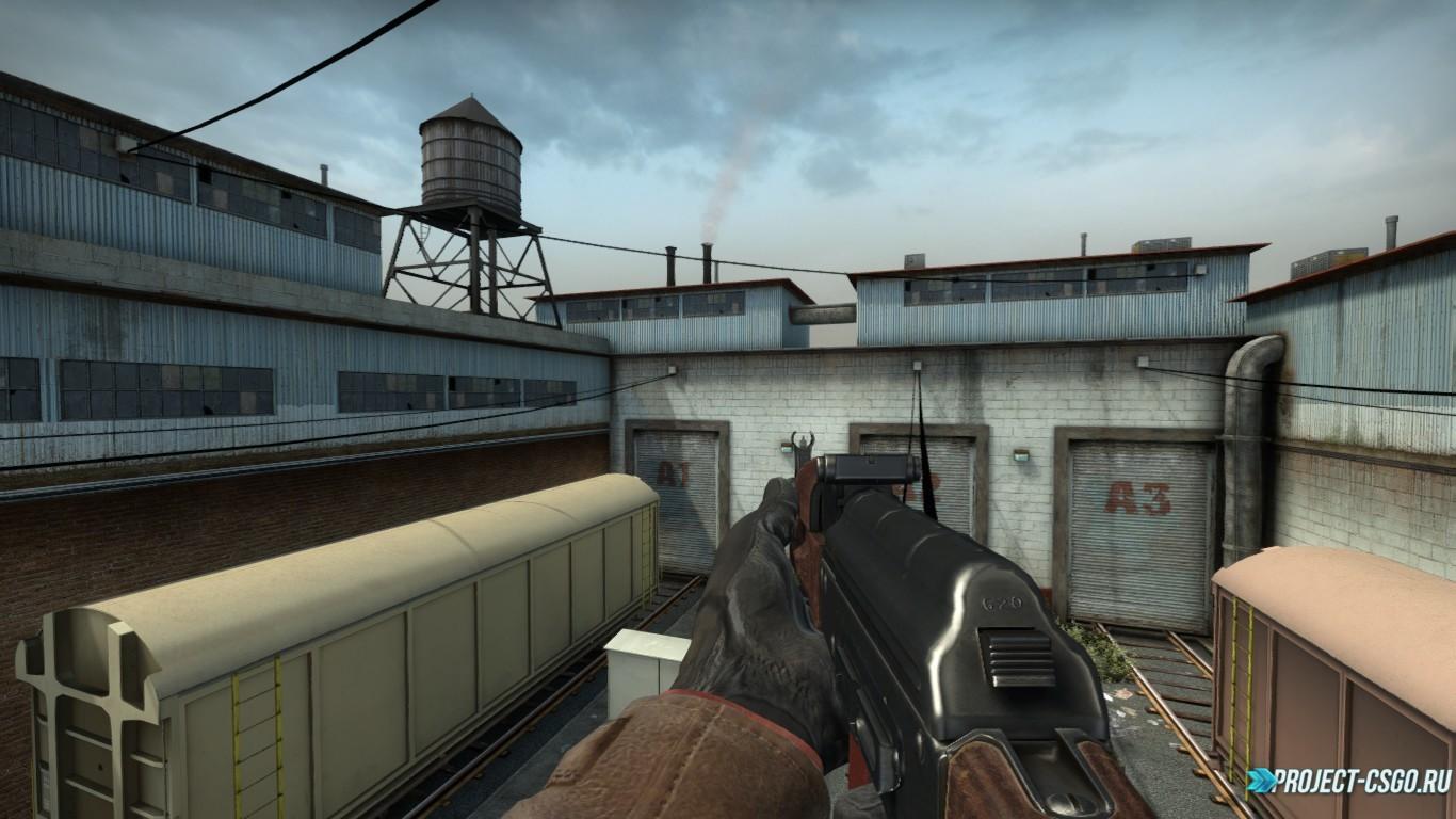 "Модель оружия АК-47 ""Mr.Rifleman AK74 On Kopter's Animation"""