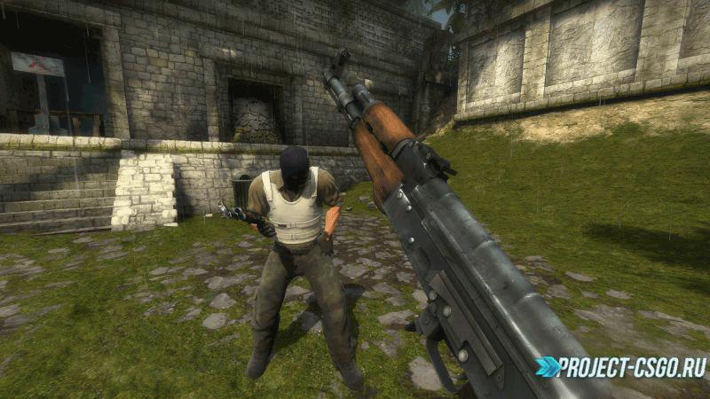 """Модель оружия АК-47 """"L4D2 ak47 For CS:GO"""""""