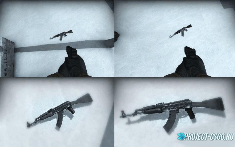 """Модель оружия АК-47 """"Ak-47 pack"""""""