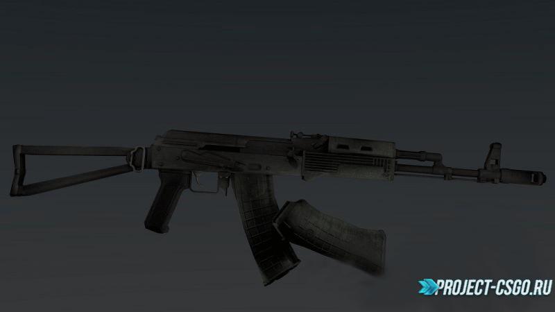 "Модель оружия АК-47 ""Tigg's AKS-74"""
