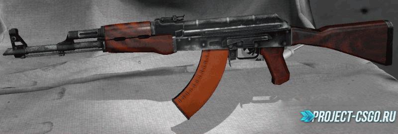 "Модель оружия АК-47 ""AK-47 : Shellac"""