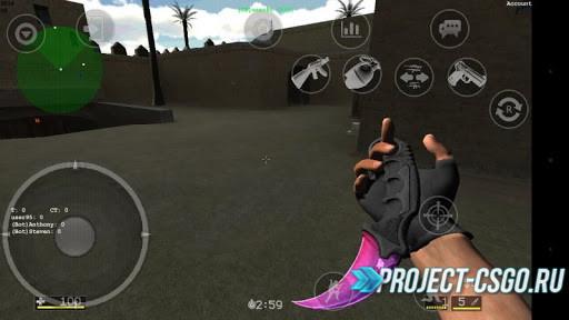 Скачать Counter-Strike: Global Offensive на телефон (CS:GO)