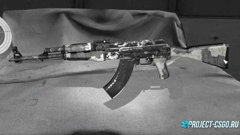 "Модель оружия АК-47 ""Worn-out AK47"""