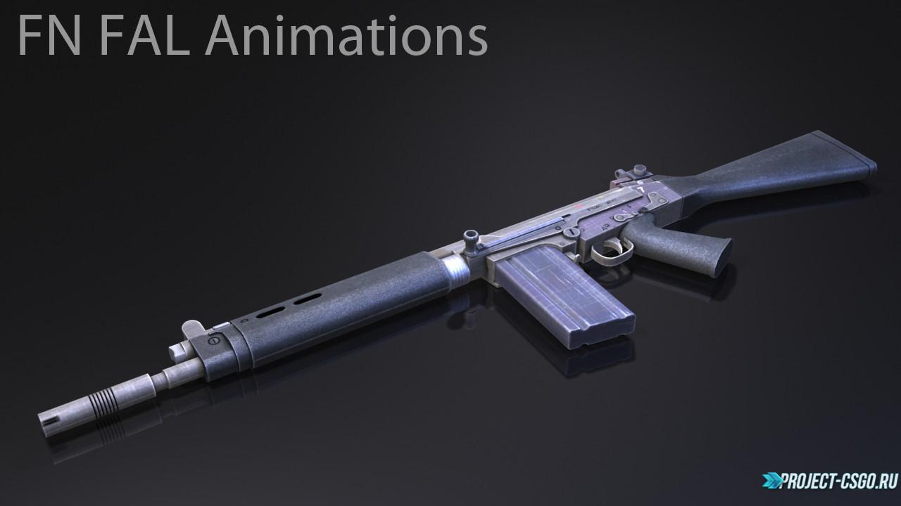 "Модель оружия Galil ""FN FAL Animations"