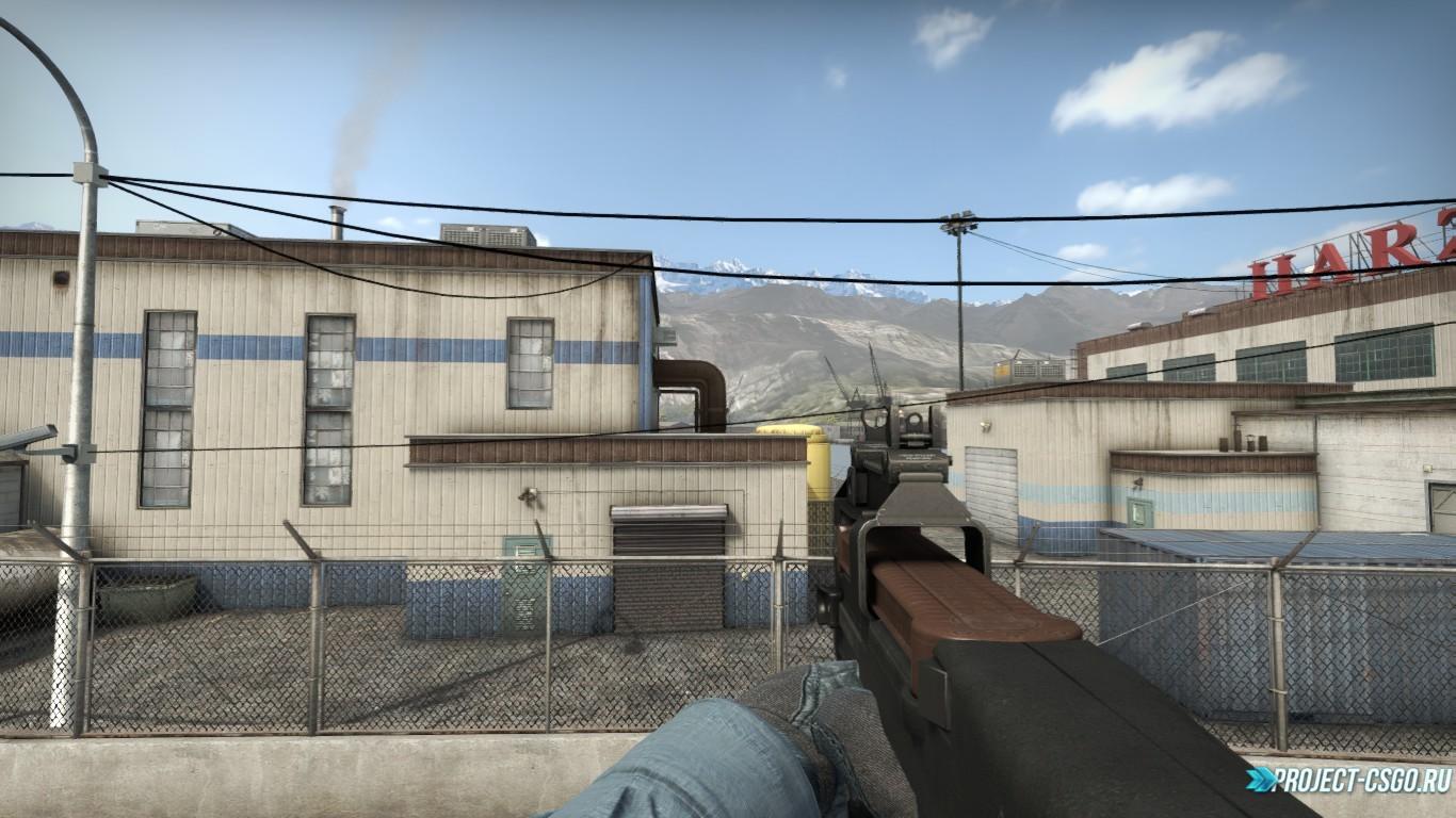 Модель оружия P90 CSGO Default P90 On IIpon's Animation(Modified)