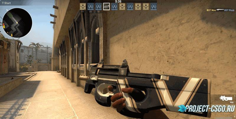 Модель оружия P90 Vendetta