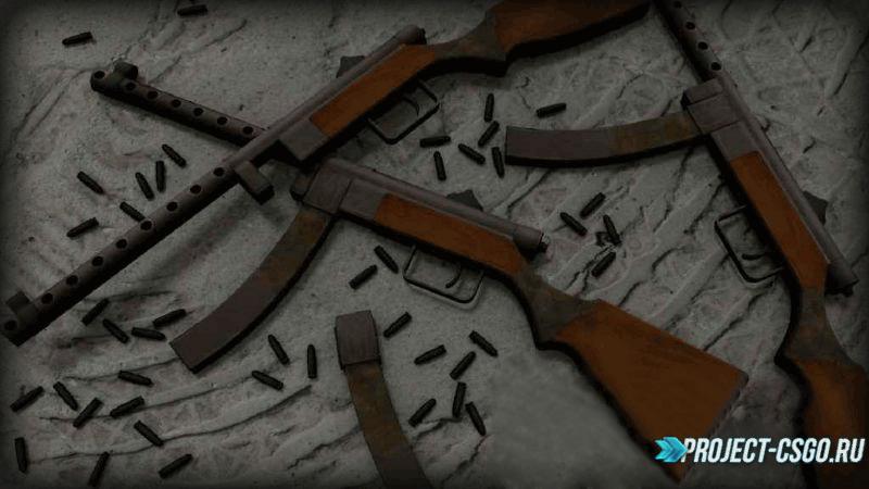 """Модель оружия P90 """"Crvena Zastava Automat M49"""""""