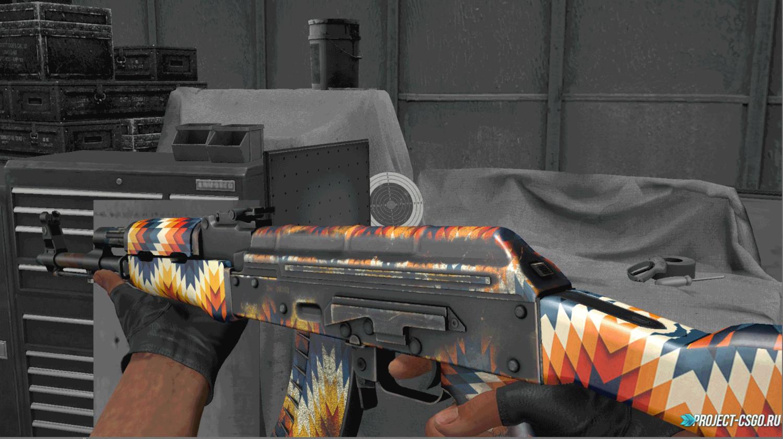 "Модель оружия АК-47 ""AK 47 | Breaking Colours"""