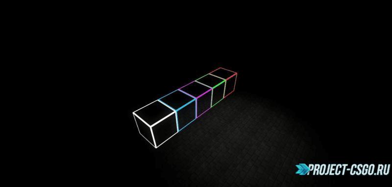Текстуры Glowing GlassBarrier Block Textures