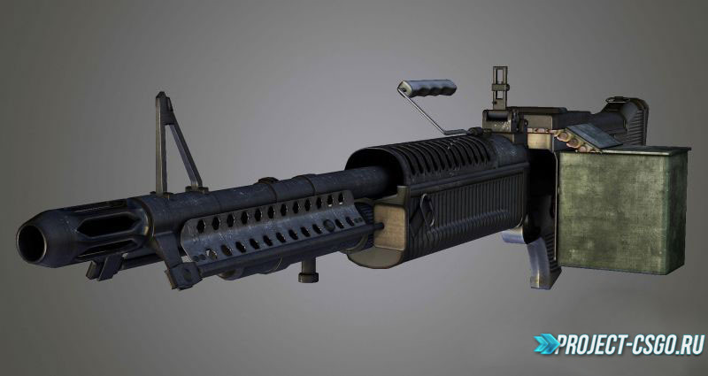 "Модель оружия M249 ""M60"""