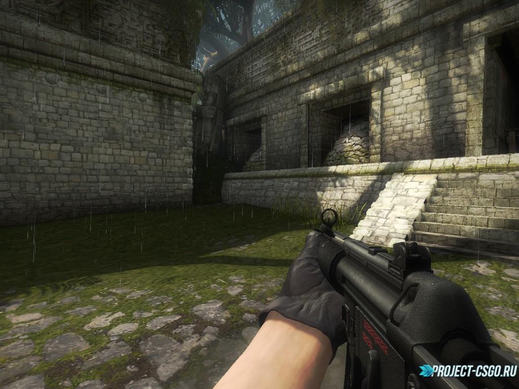 Модель оружия MP7 MP5SD for MP7