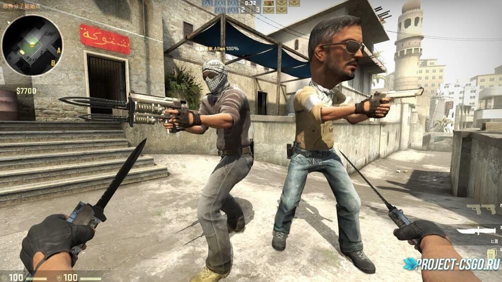 Модель оружия Dual Elites KnifeDDeagles