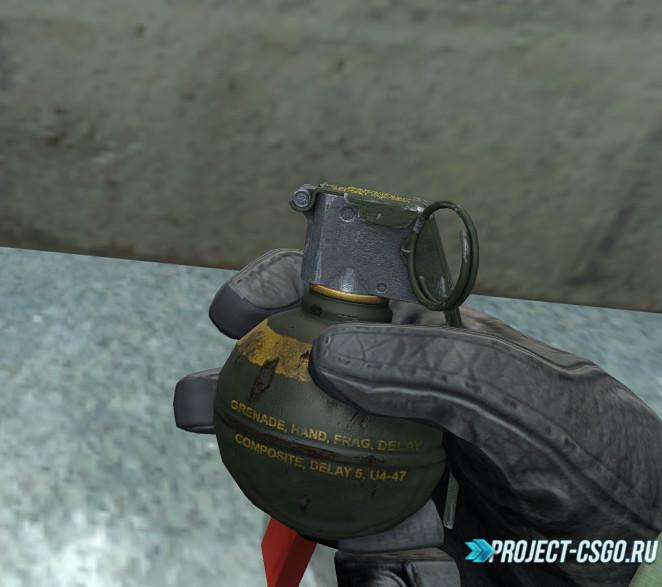 "Модель гранаты ""Thanez's M67 Frag for GO"""