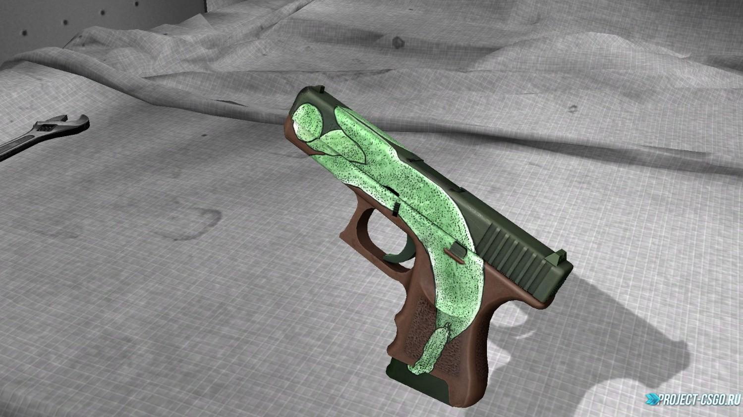 """Модель оружия Glock """"Pea Shooter"""""""