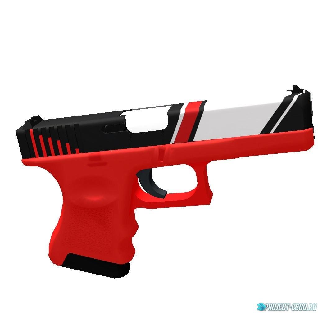 "Модель оружия Glock ""Glock-18 | Bloodstripe"""